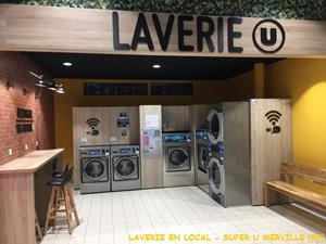 NOUVEL INSTALLATION LAVERIE EN LOCAL A MERVILLE (59)